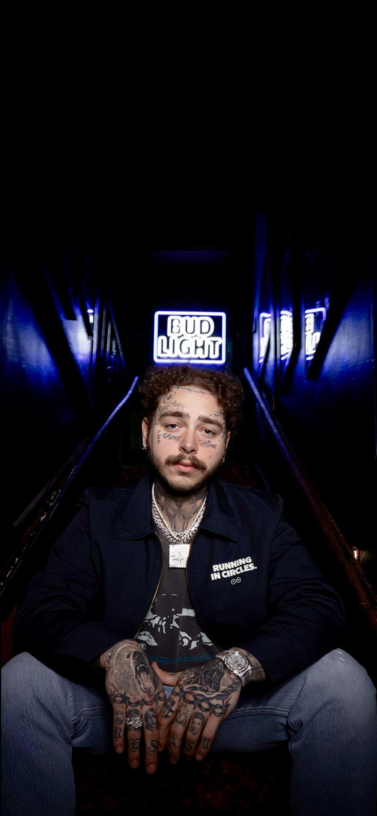Post Malone Iphone Wallpapers Top Free Post Malone Iphone Backgrounds Wallpaperaccess