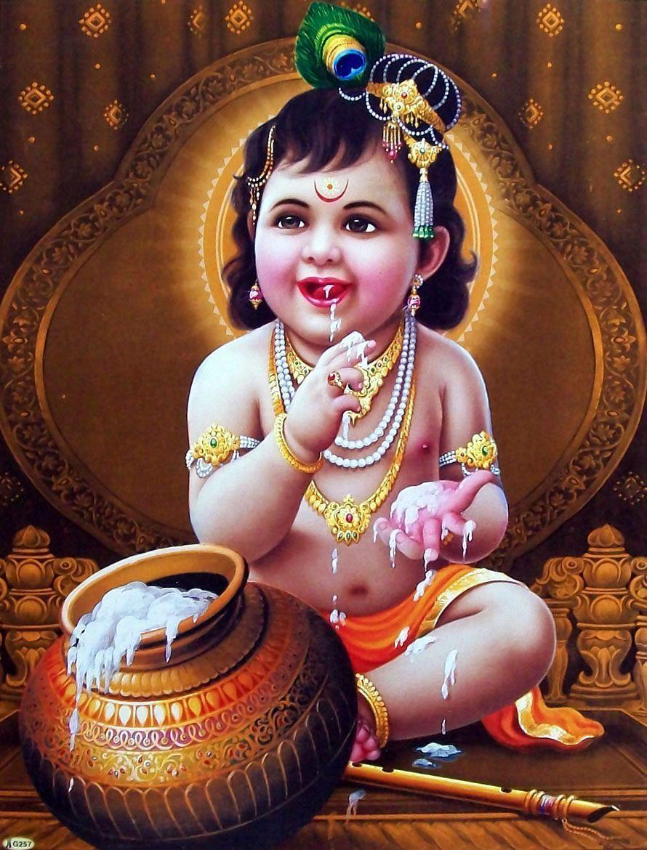 Bal Krishna Wallpapers Top Free Bal Krishna Backgrounds Wallpaperaccess