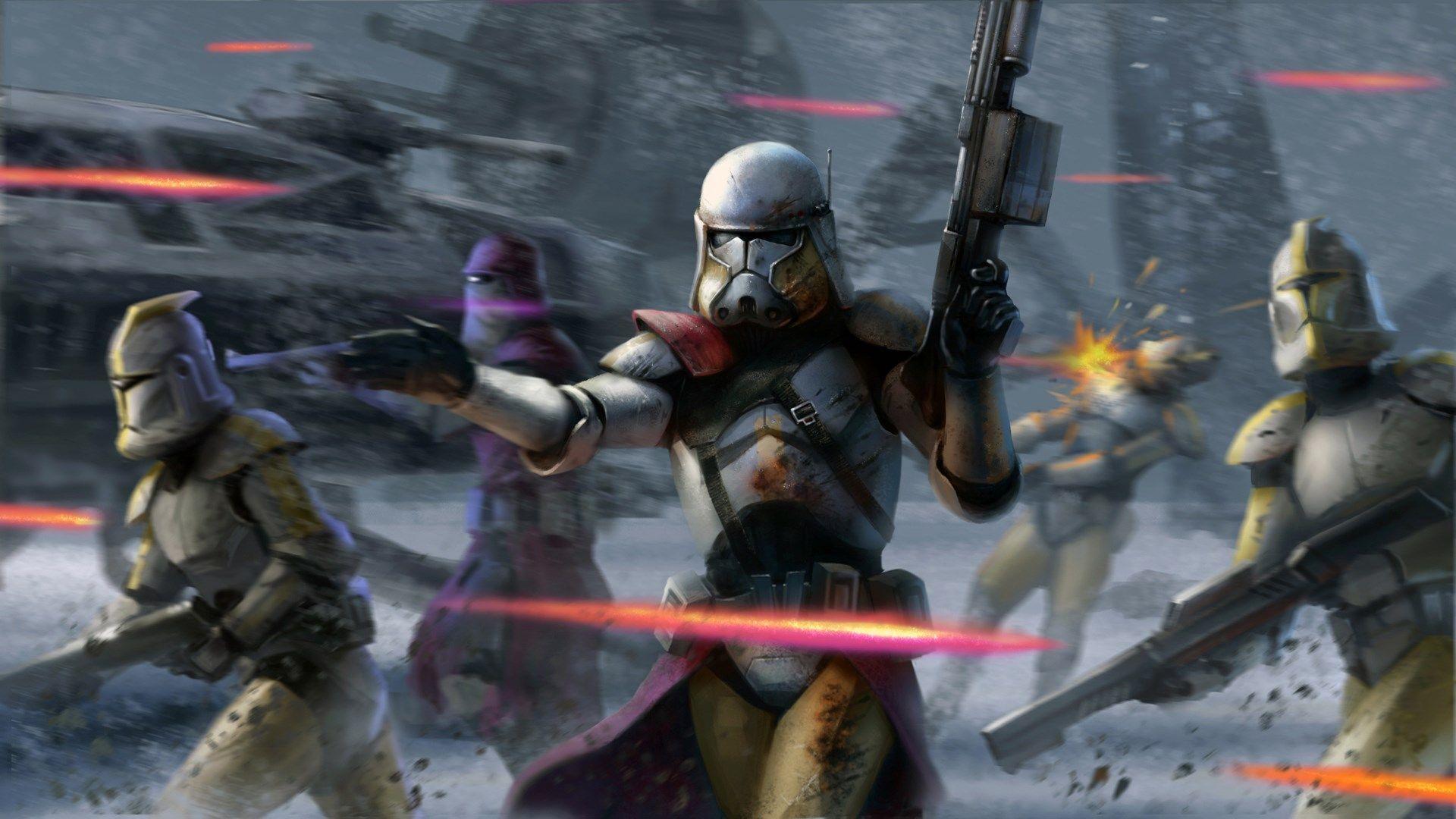 Star Wars Clone Wars Wallpapers Top Free Star Wars Clone Wars Backgrounds Wallpaperaccess