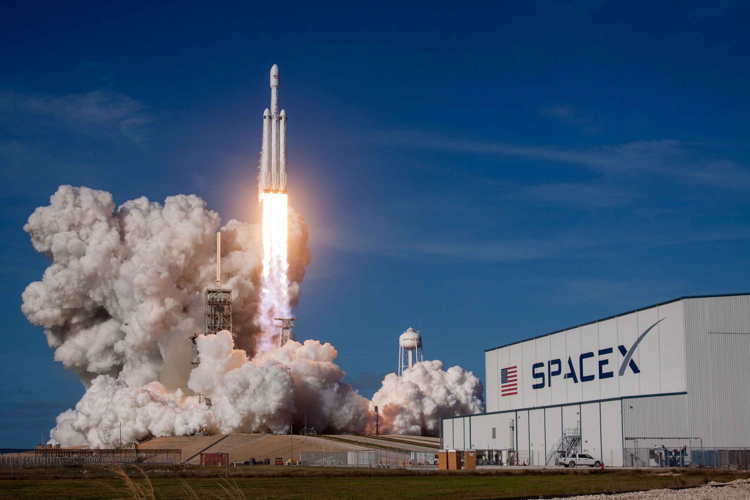 Falcon Heavy Wallpapers - Top Free ...