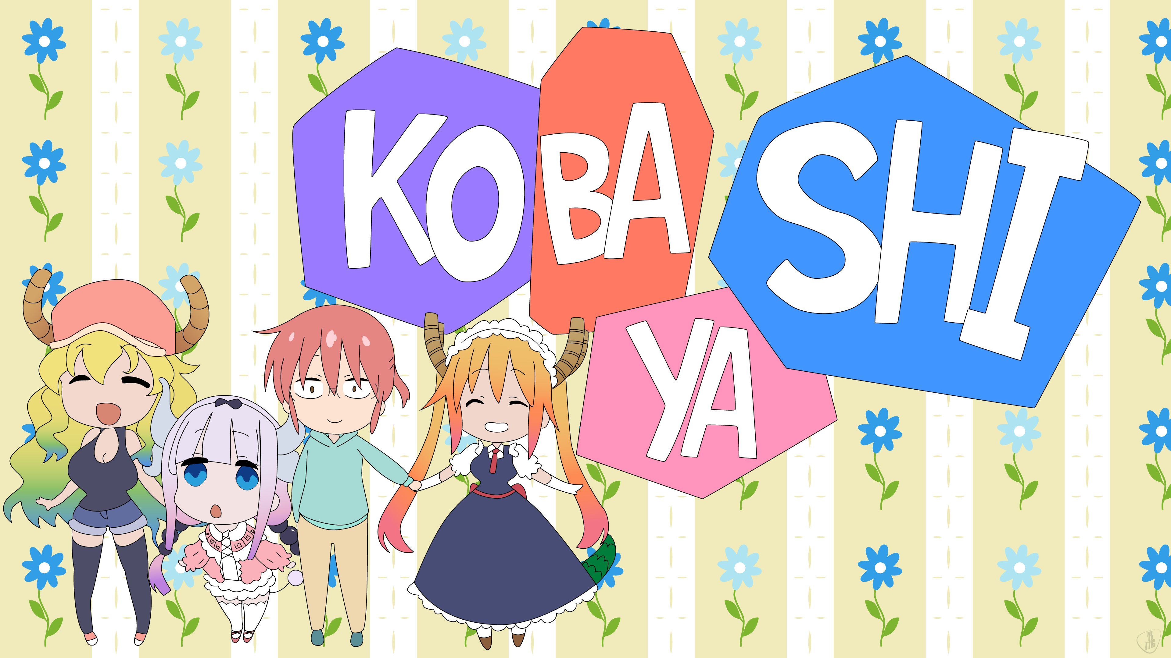 Miss Kobayashi S Dragon Maid Wallpapers Top Free Miss
