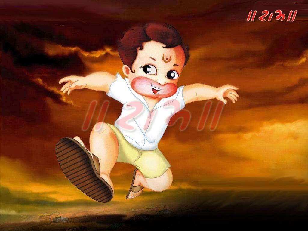 Bal Hanuman Wallpapers Top Free Bal Hanuman Backgrounds Wallpaperaccess