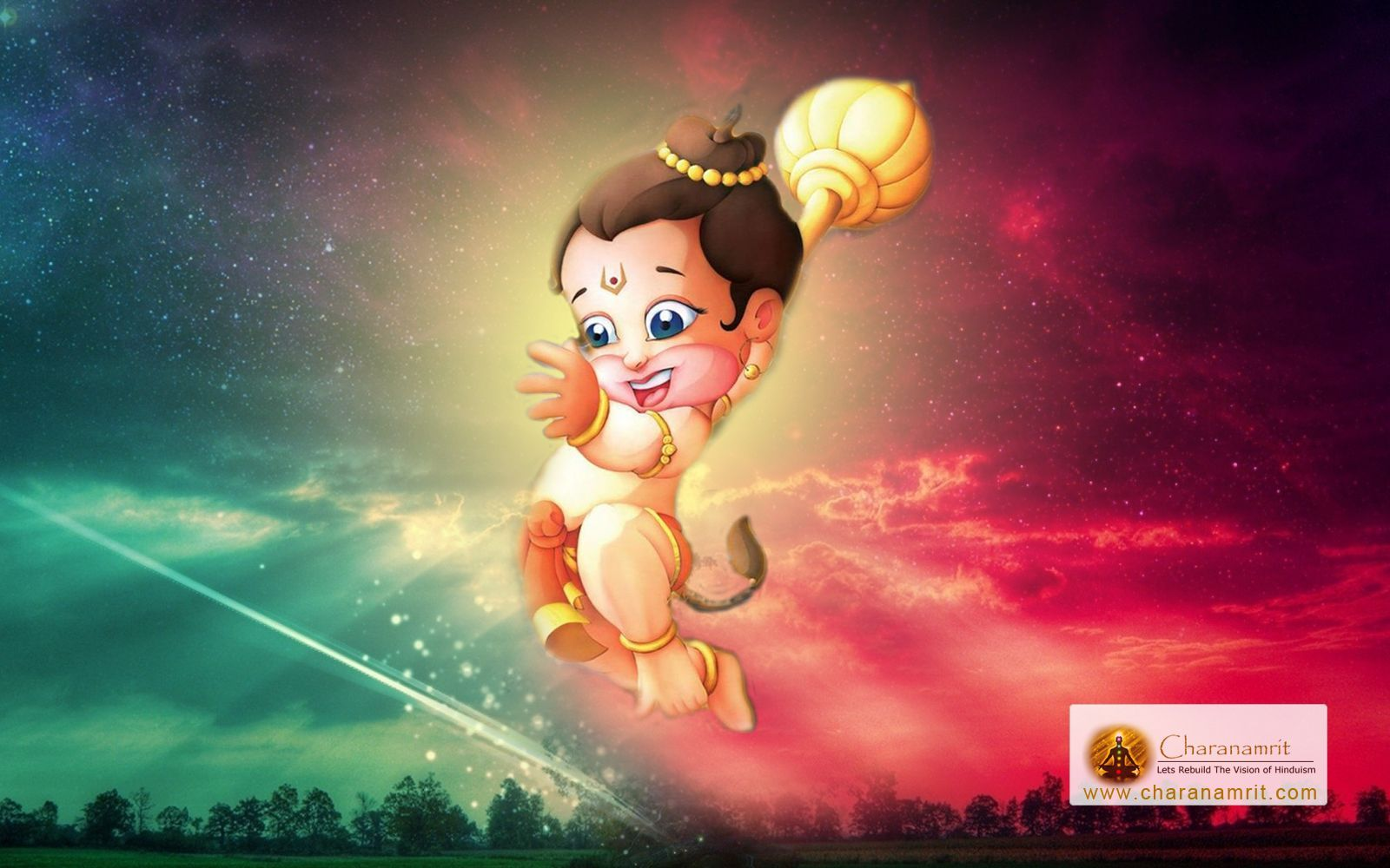 Bal Hanuman Wallpapers Top Free Bal Hanuman Backgrounds Wallpaperaccess