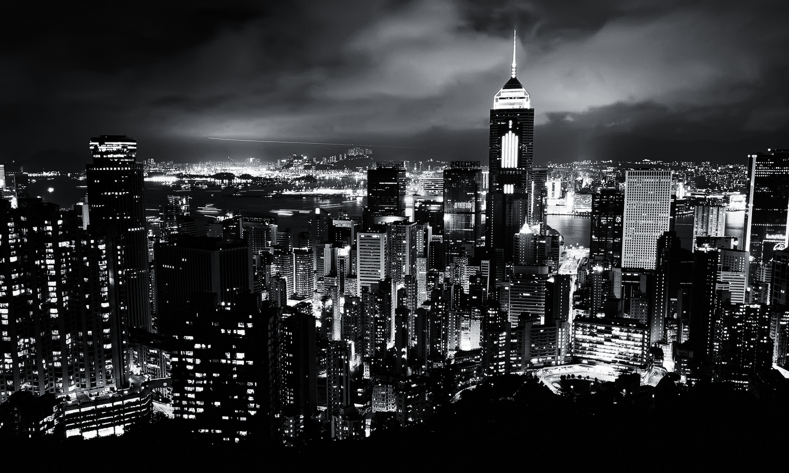 black and white cityscape wallpapers