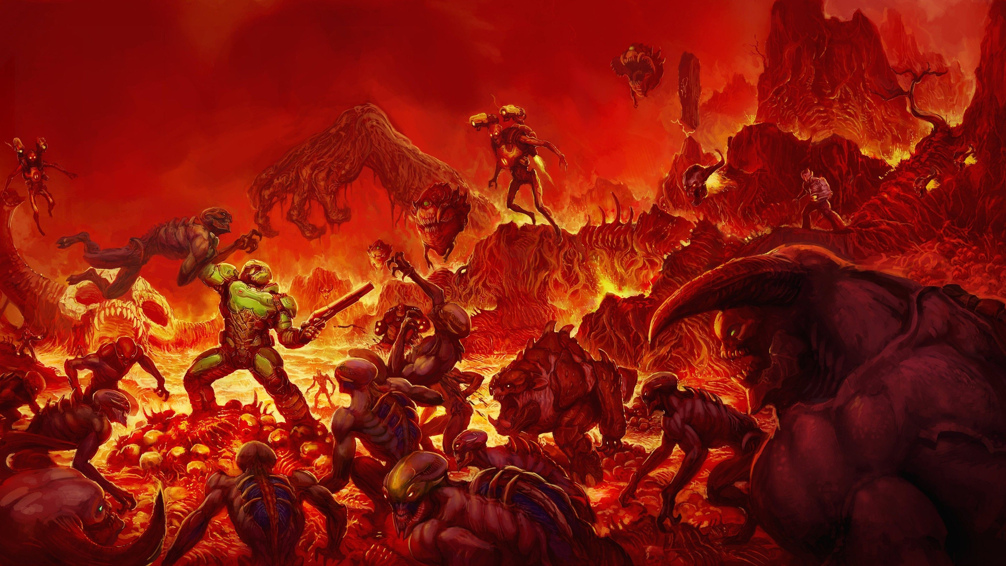 Doom Eternal Wallpaper Dual Monitor Cheap Diazepam43