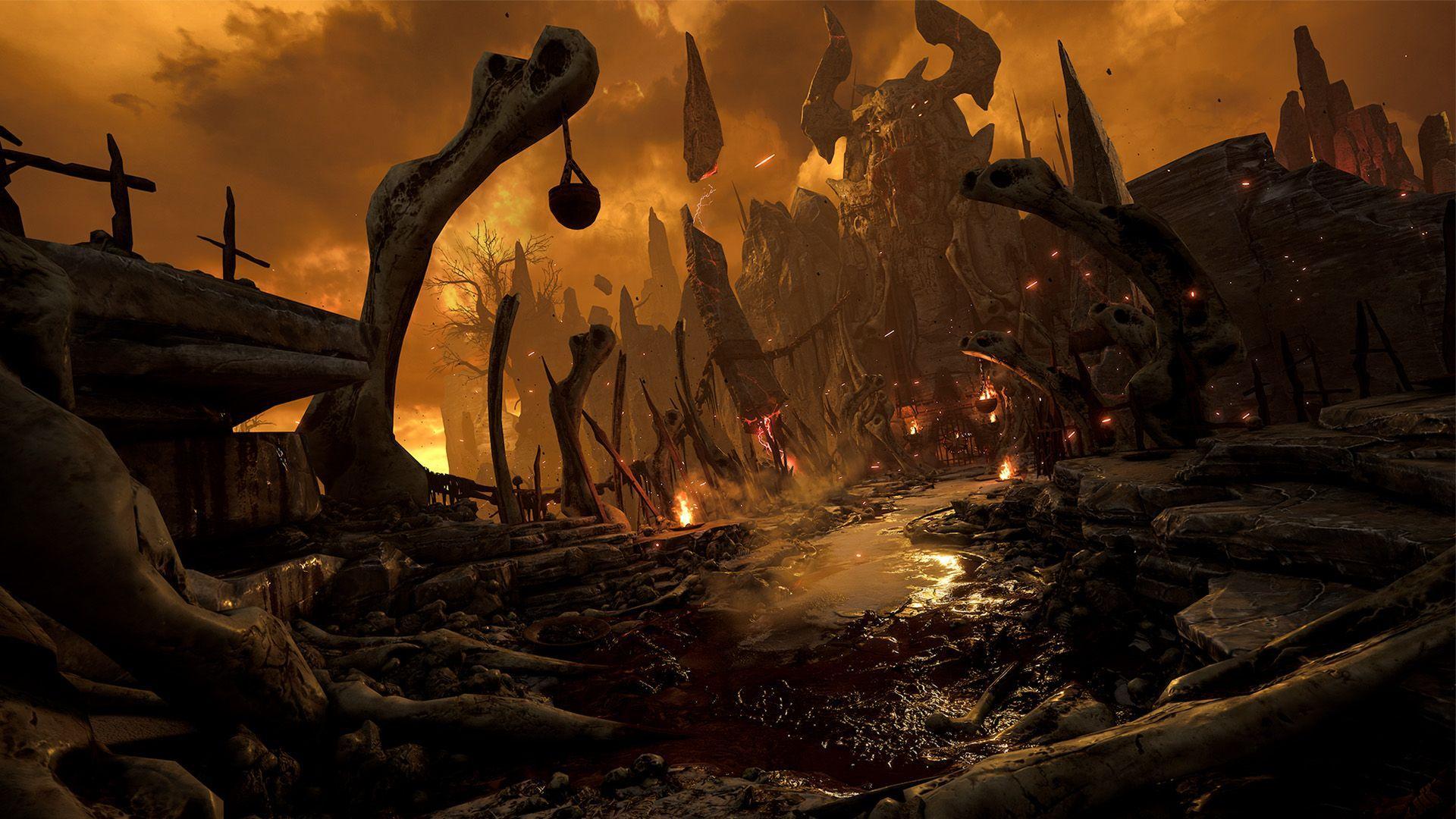 Doom 4K Wallpapers - Top Free Doom 4K Backgrounds - WallpaperAccess