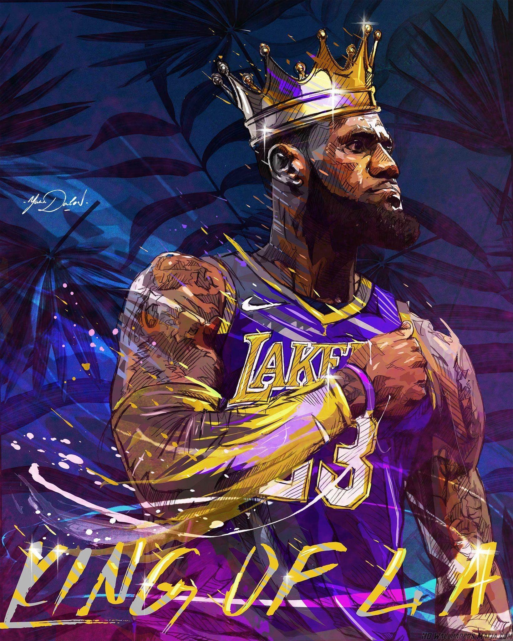 King LeBron James Wallpapers - Top Free