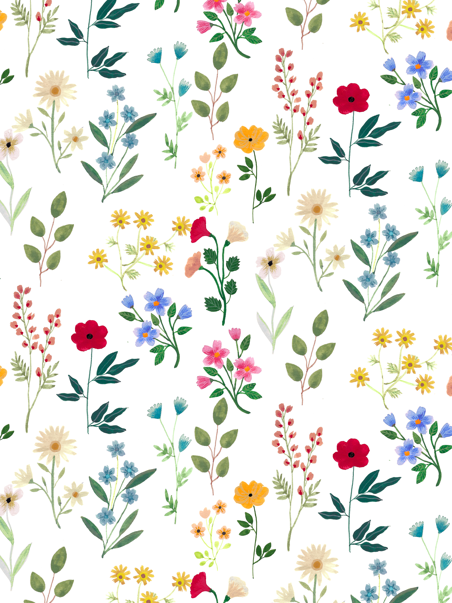 Flower Drawing Wallpapers Top Free Flower Drawing Backgrounds