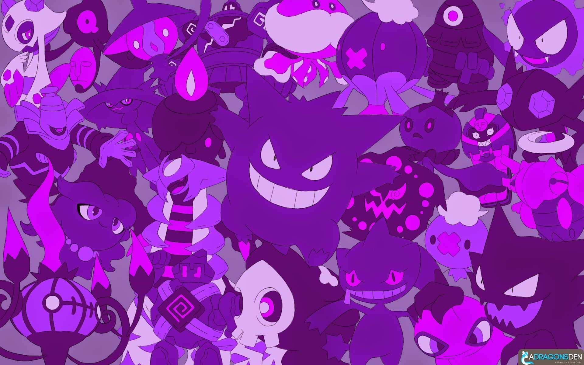Ghost Pokemon Wallpapers Top Free Ghost Pokemon Backgrounds