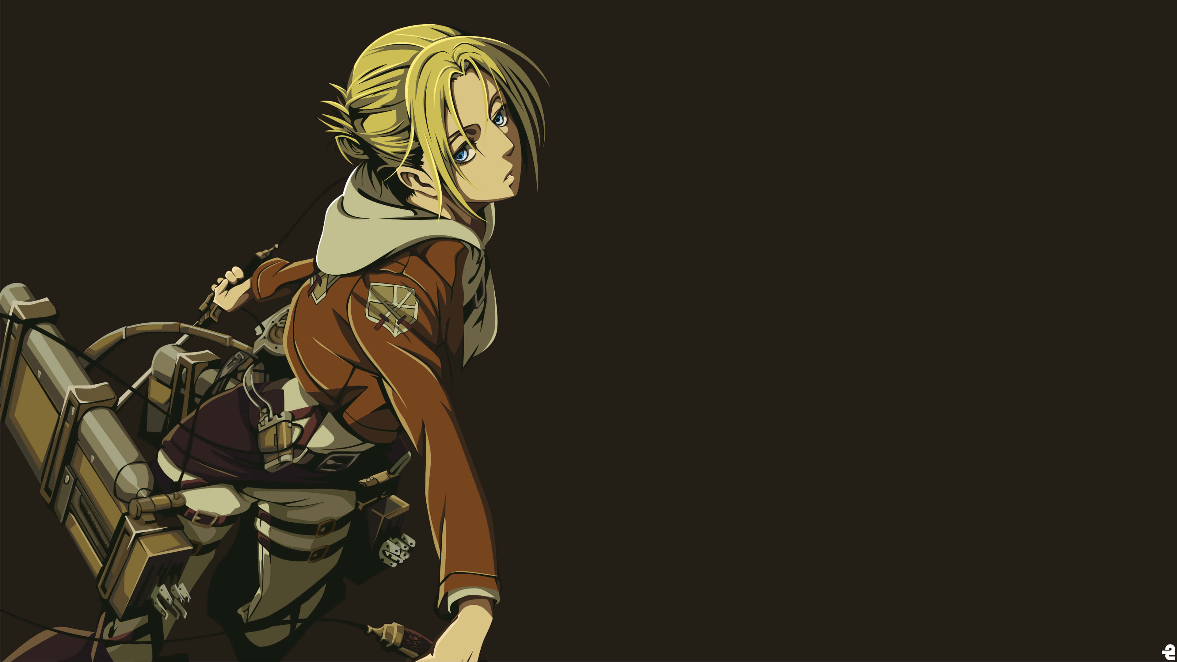 Annie Leonhart Wallpapers Top Free Annie Leonhart Backgrounds Wallpaperaccess