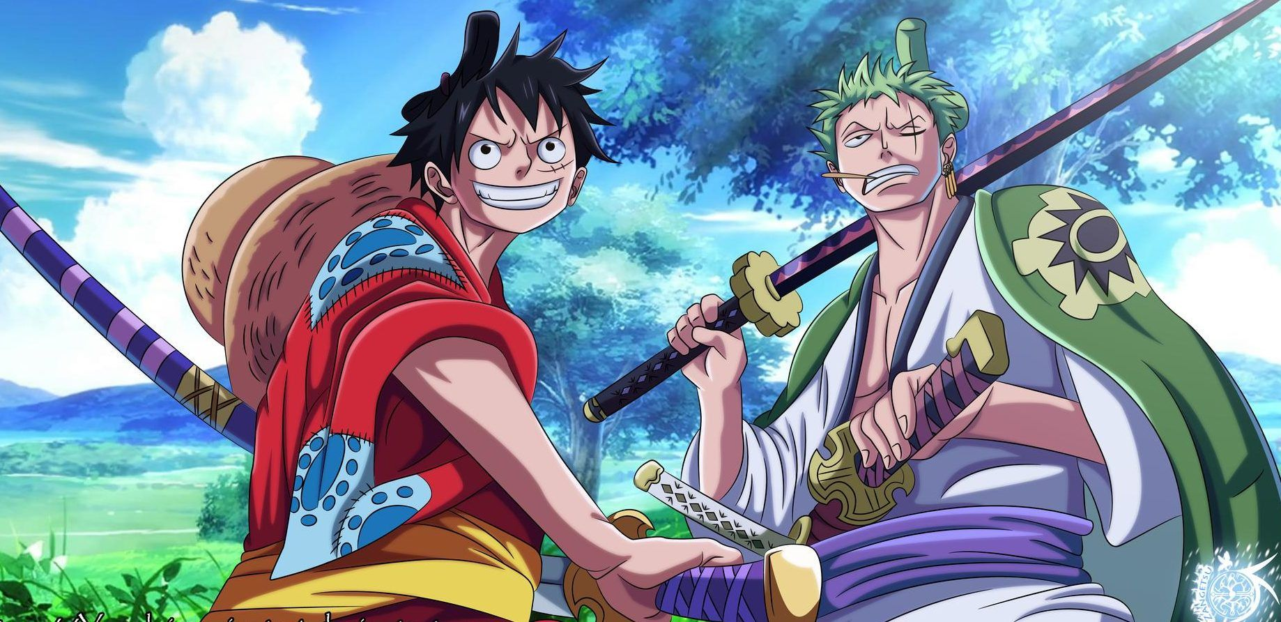 One Piece Wano Wallpapers Top Free One Piece Wano Backgrounds Wallpaperaccess