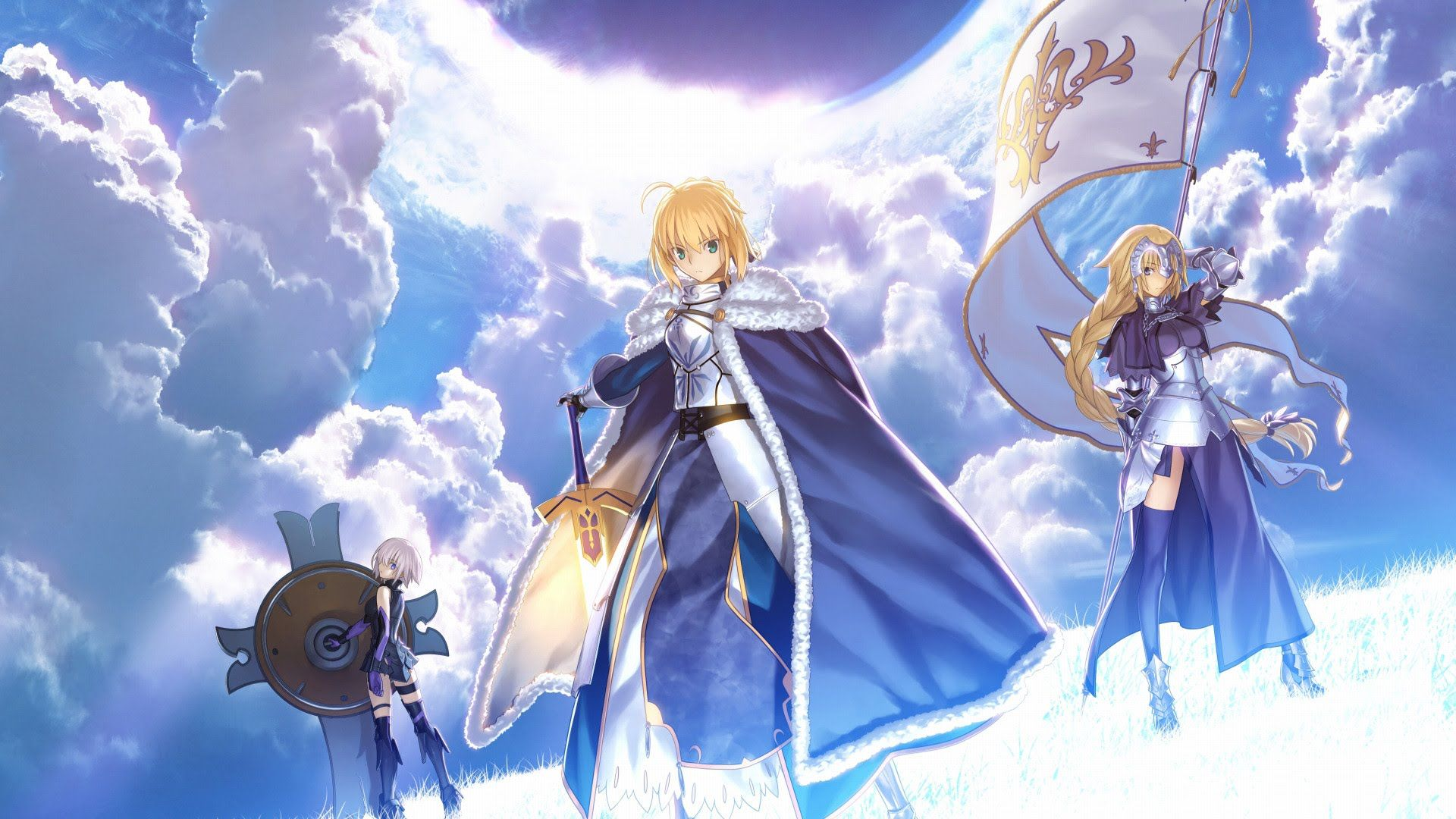 Fate Grand Order 1920x1080 Wallpapers Top Free Fate Grand Order 1920x1080 Backgrounds Wallpaperaccess