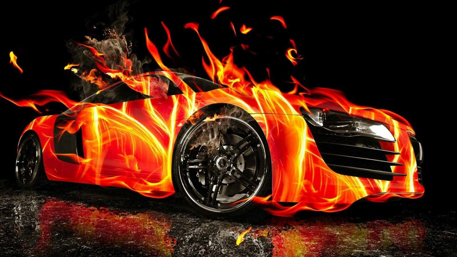 Fire Cars Wallpapers Top Free Fire Cars Backgrounds