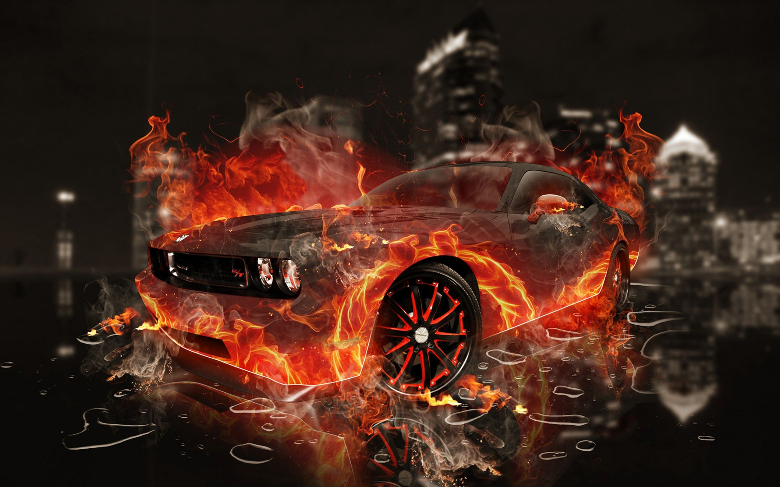Fire Cars Wallpapers - Top Free Fire Cars Backgrounds ...