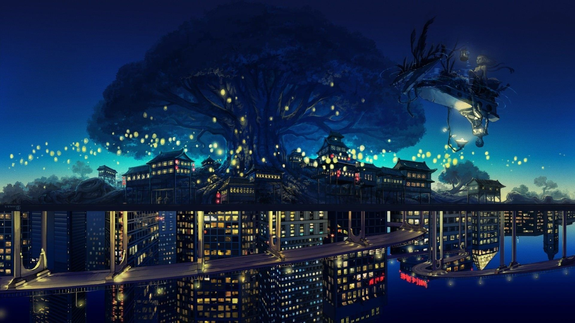 Aesthetic Anime City Wallpapers Top Free Aesthetic Anime City