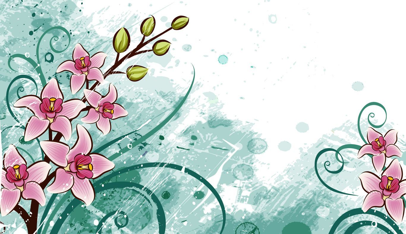 Cartoon Flower Wallpapers Top Free Cartoon Flower Backgrounds Wallpaperaccess
