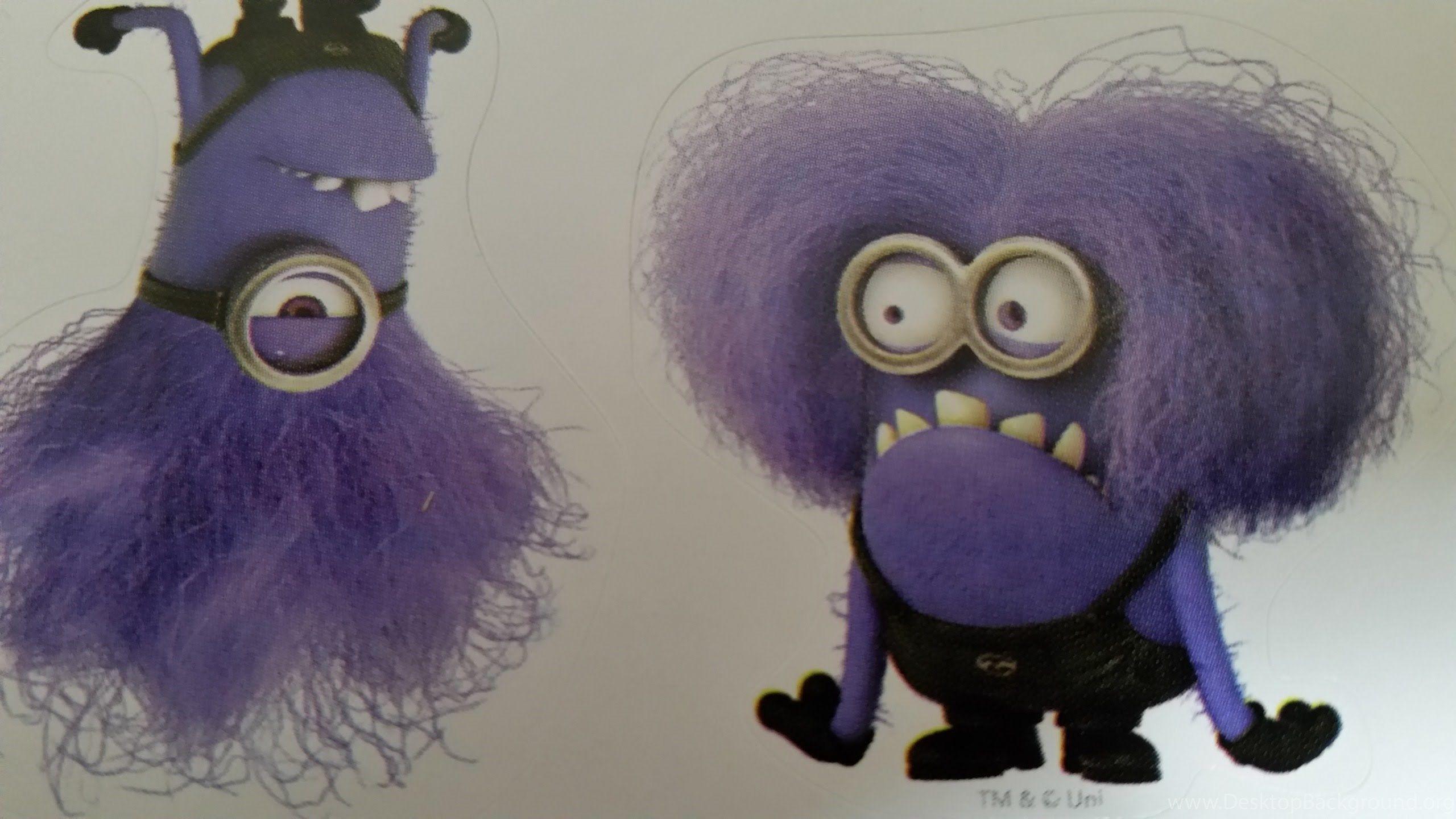 каждом злой фиолетовый миньон картинка хочется