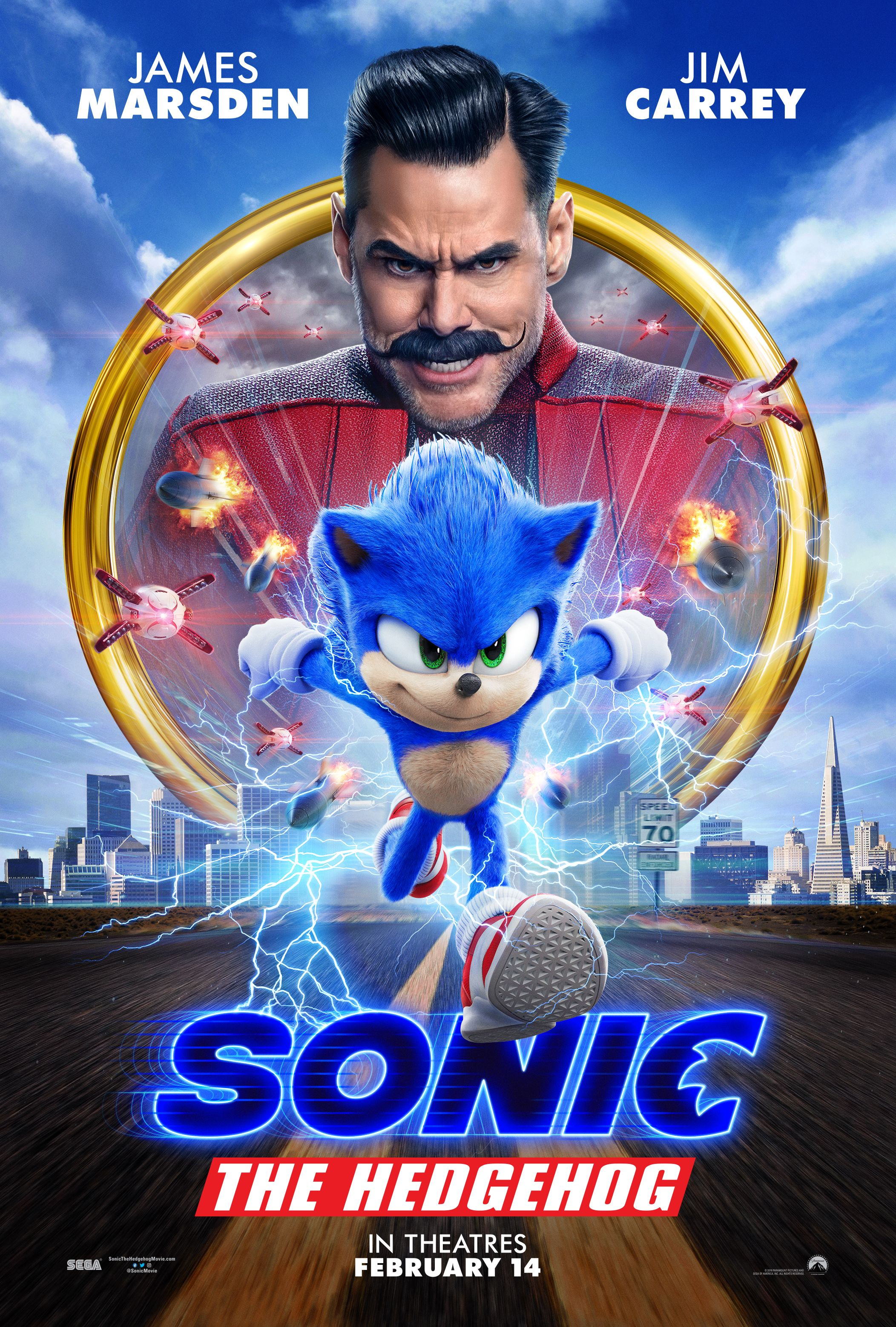 sonic the hedgehog movie wallpaper 2020
