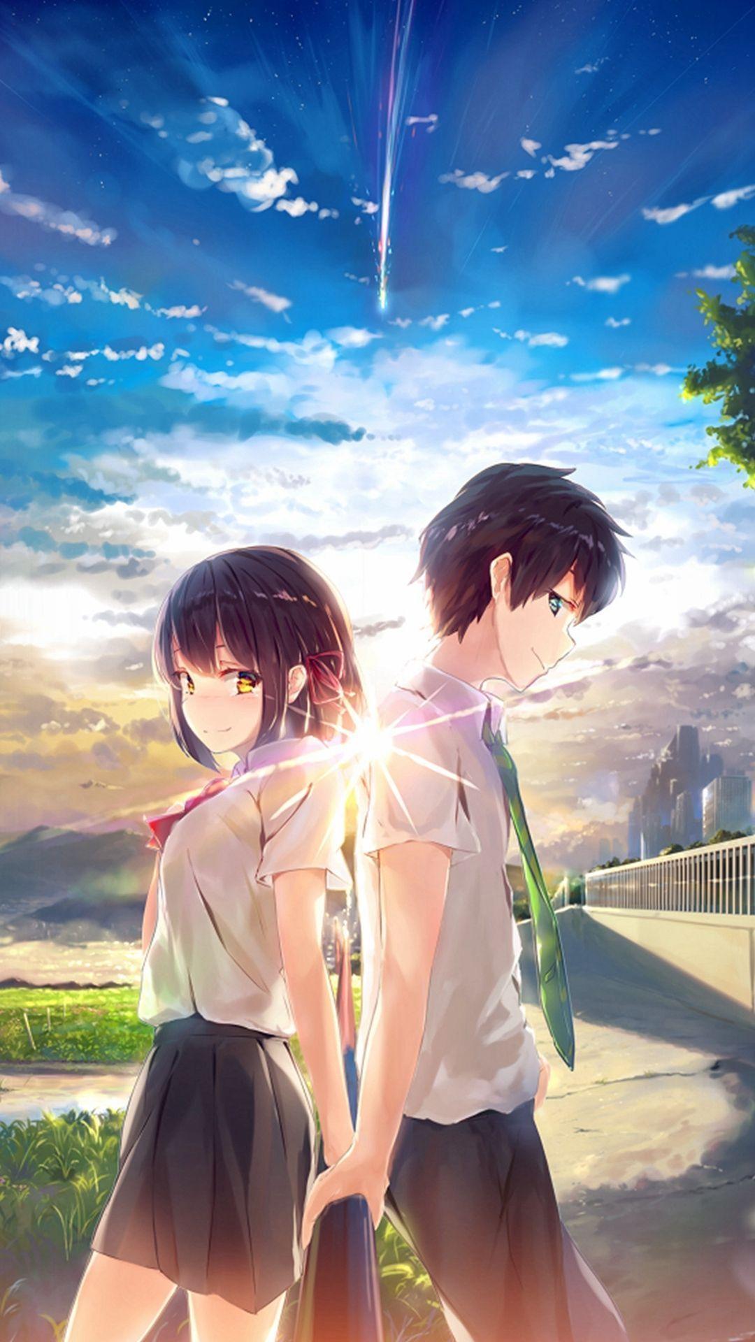 Anime Wallpaper Girl And Boy - Anime Wallpaper HD