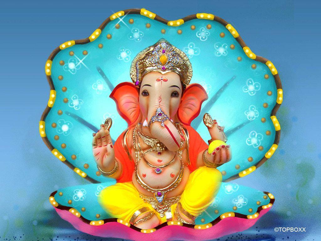 1024x768 tất cả mới pix1: Ganpati Bappa Wallpaper Mobile