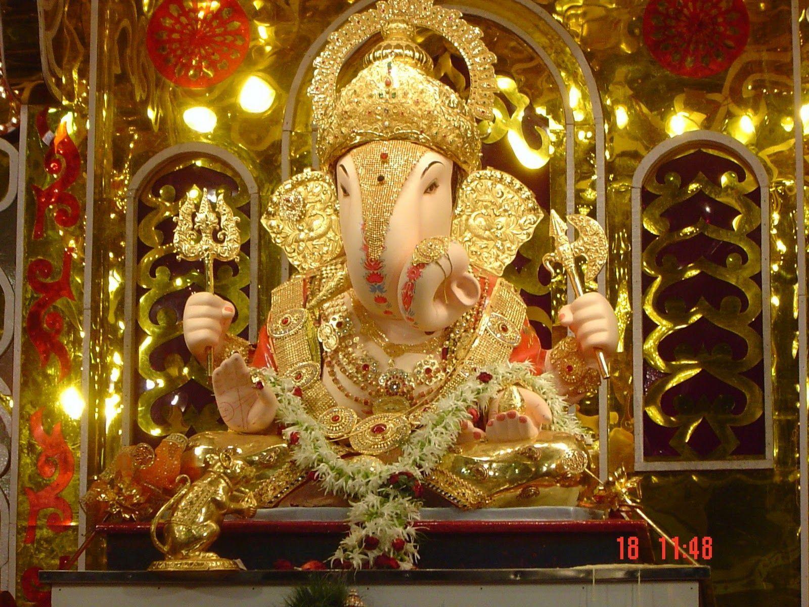 Hình ảnh 1600x1200: Hình nền HD của Ganpati Bappa