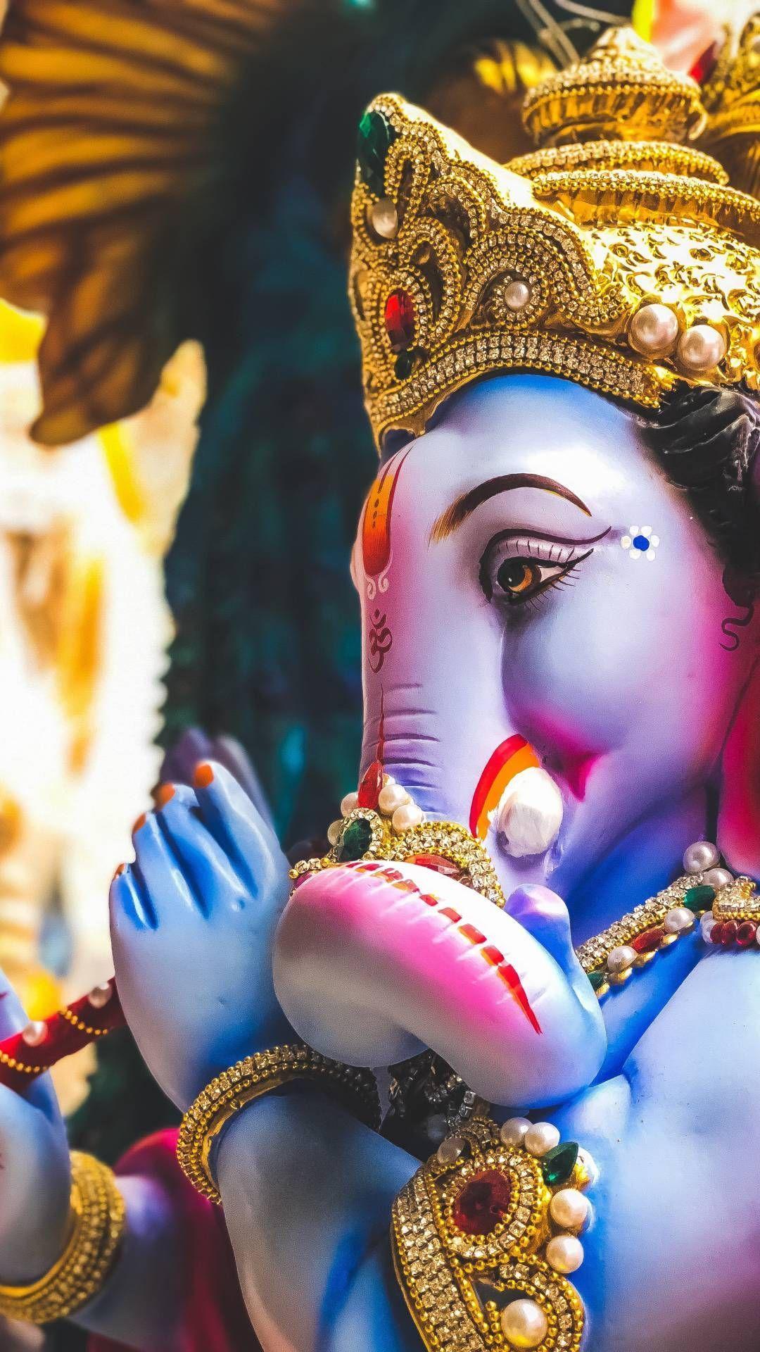 1080x1920 Ganpati Hình Nền iPhone.  Ganesh hình nền, Ganesh chaturthi