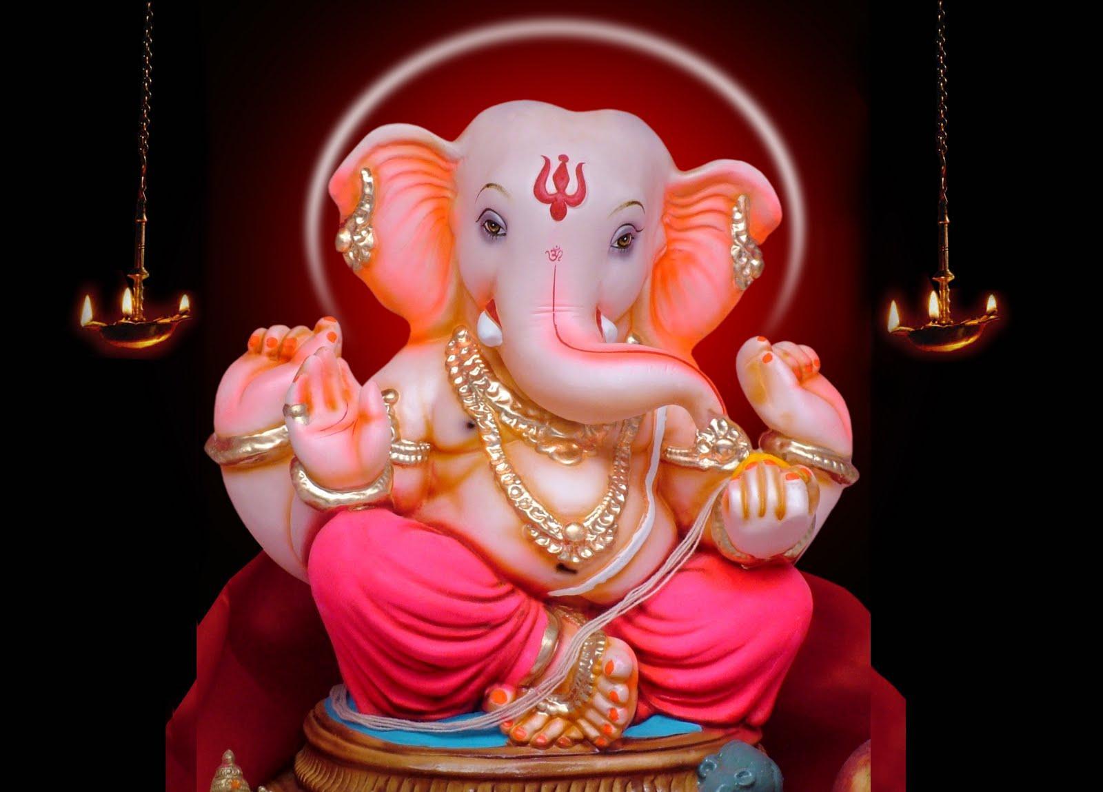 1600x1149 Ganapati Bappa hình nền