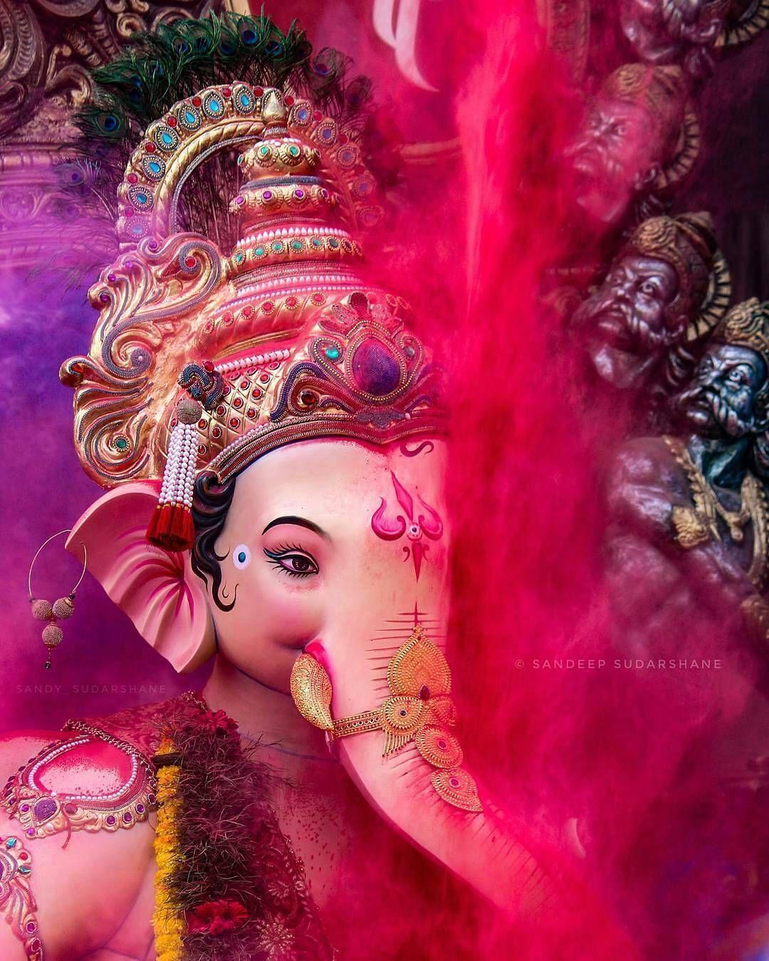 Lễ hội Ganesh 1080x1350 2018, Mahavir Nagar, Kandivali .. Tín dụng vào năm 2020
