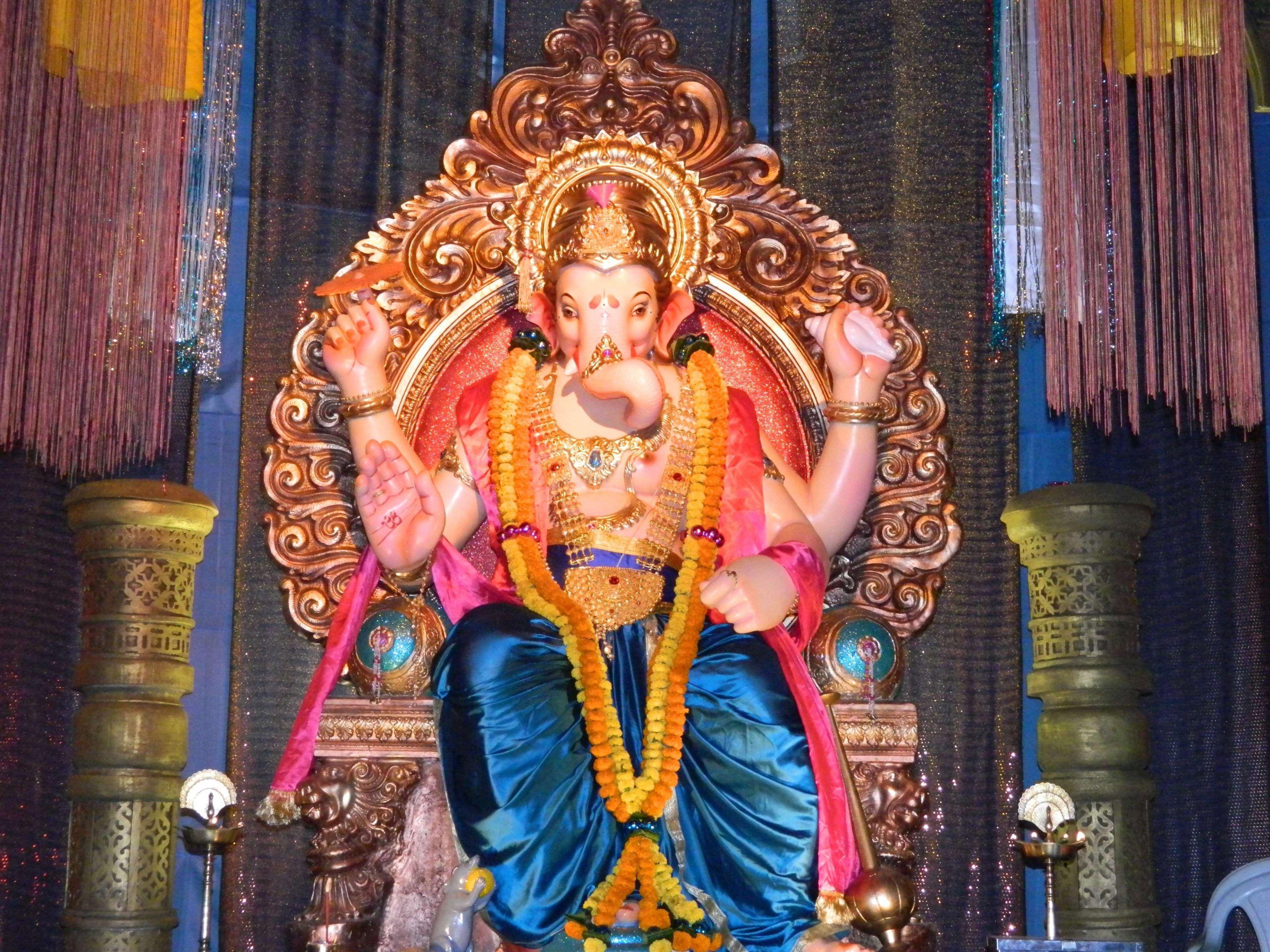 Hình nền 3200x2400 Hình nền Prabhadevi Ganesh Ganpati Bappa Morya Tương tự