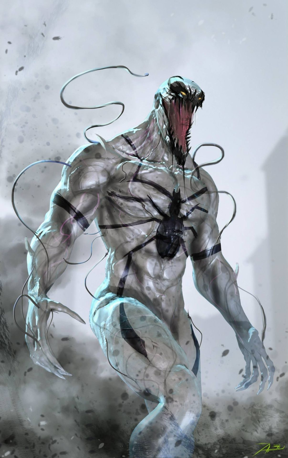 Anti Venom Wallpapers Top Free Anti Venom Backgrounds