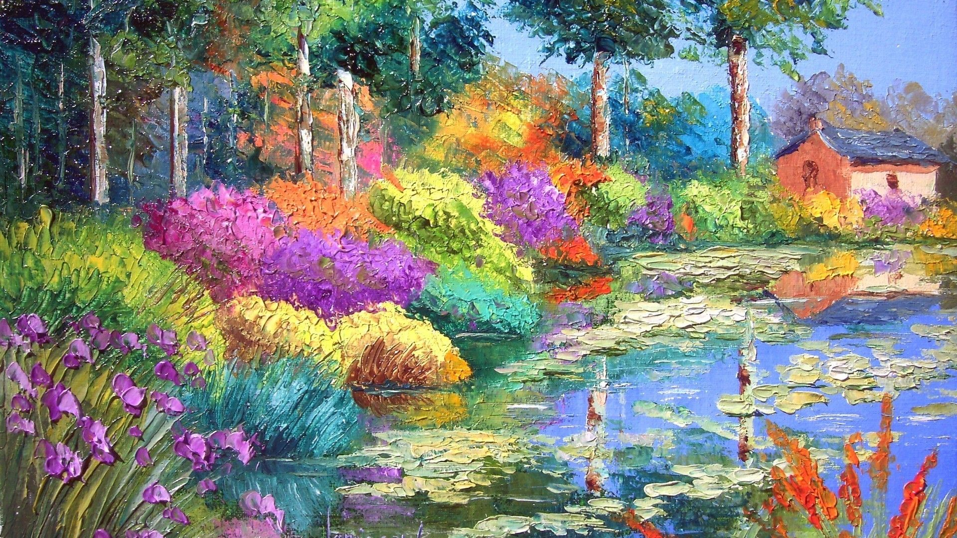 Famous Painting Wallpapers Top Free Famous Painting Backgrounds