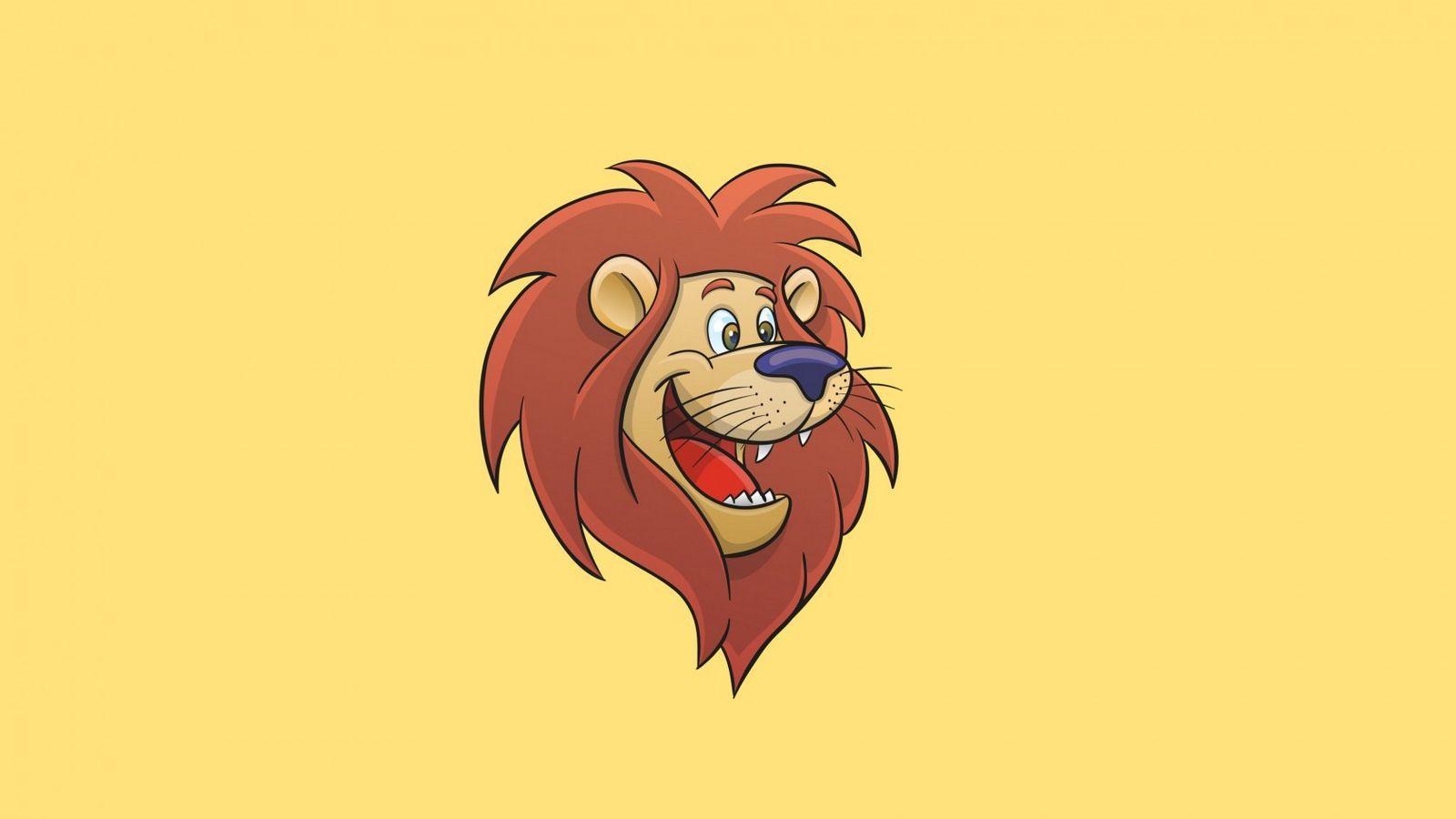 Lion Cartoon Wallpapers Top Free Lion Cartoon Backgrounds Wallpaperaccess