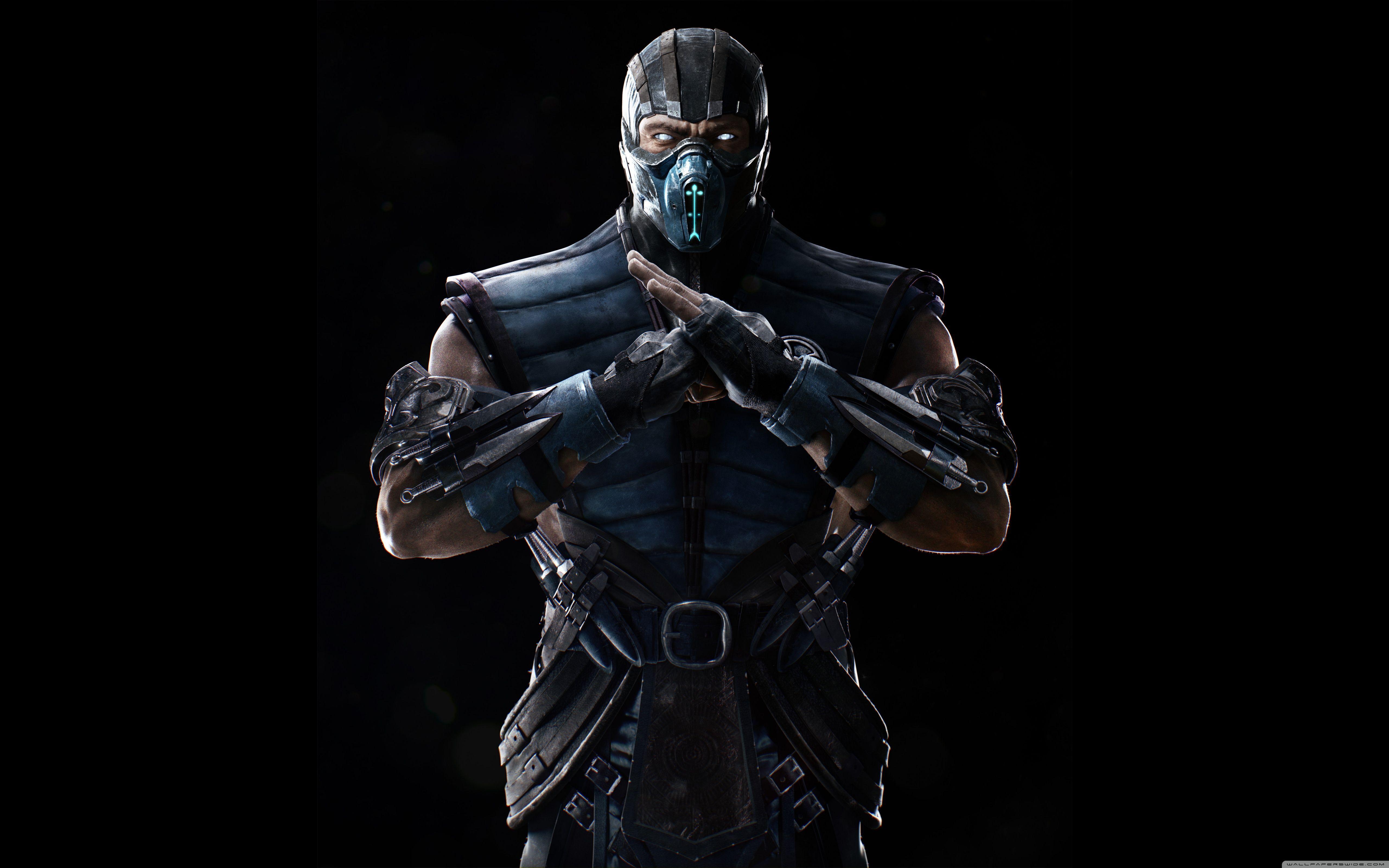 Mortal Kombat X Sub Zero Wallpapers Top Free Mortal Kombat X Sub