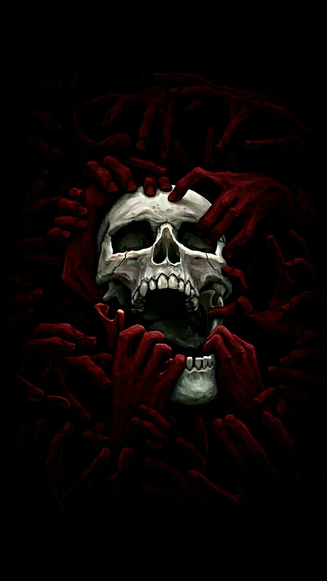Black Skull Iphone Wallpapers Top Free Black Skull Iphone Backgrounds Wallpaperaccess