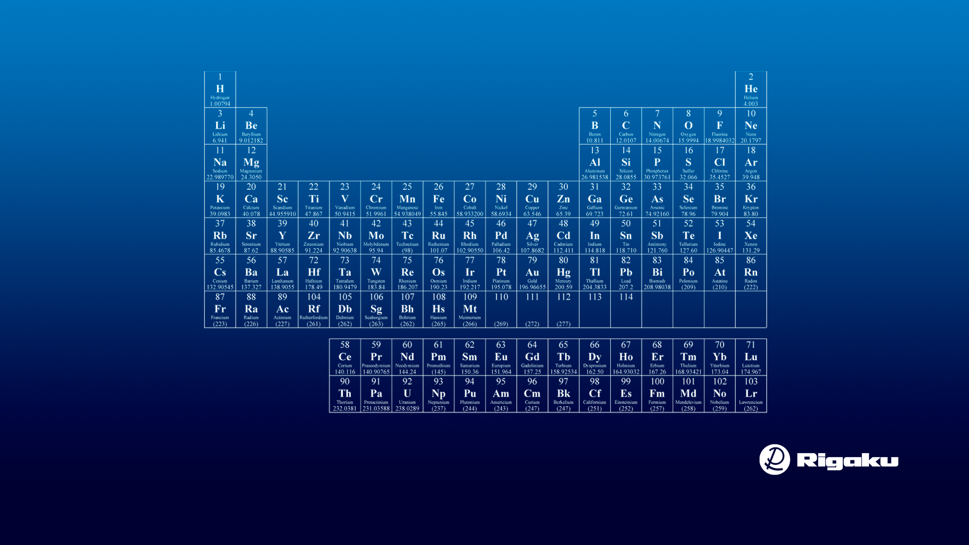 Periodic Table Wallpapers - Top Free Periodic Table ...