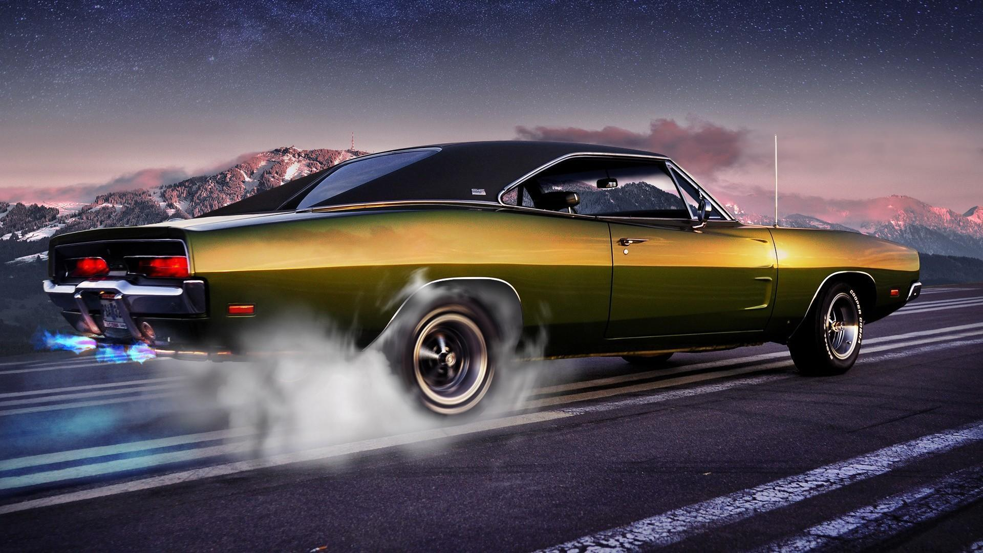 Classic Muscle Car Wallpapers Top Free Classic Muscle Car Backgrounds Wallpaperaccess