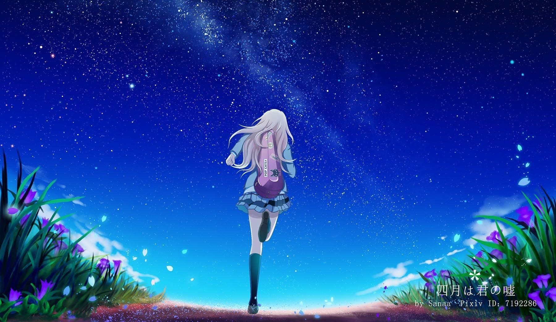 Your Lie In April Hd Wallpapers Top Free Your Lie In April Hd