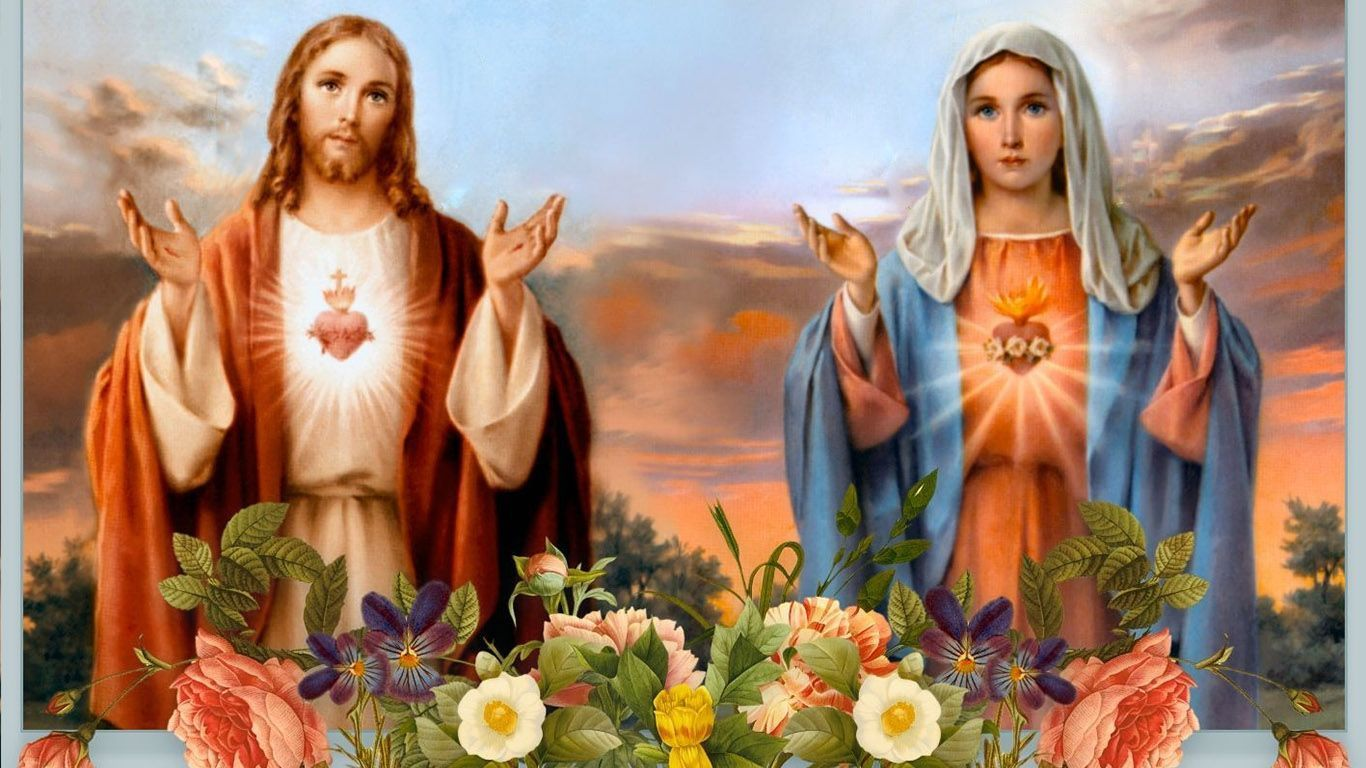 Mary And Jesus Wallpapers Top Free Mary And Jesus Backgrounds