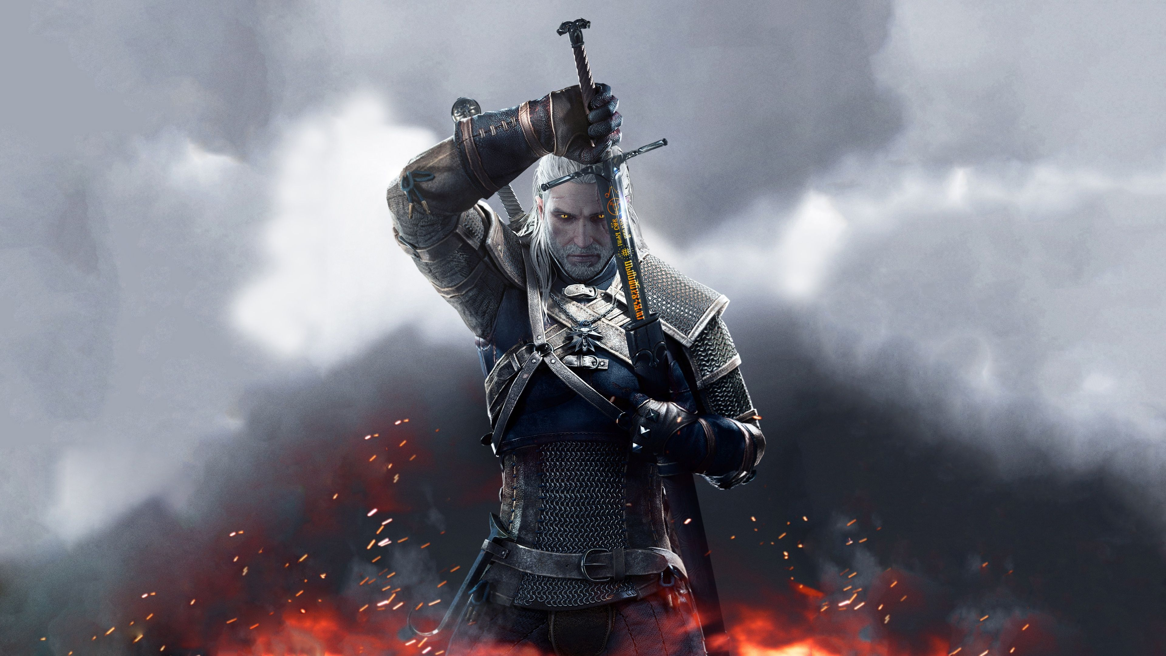 Witcher 4k Wallpapers Top Free Witcher 4k Backgrounds Wallpaperaccess