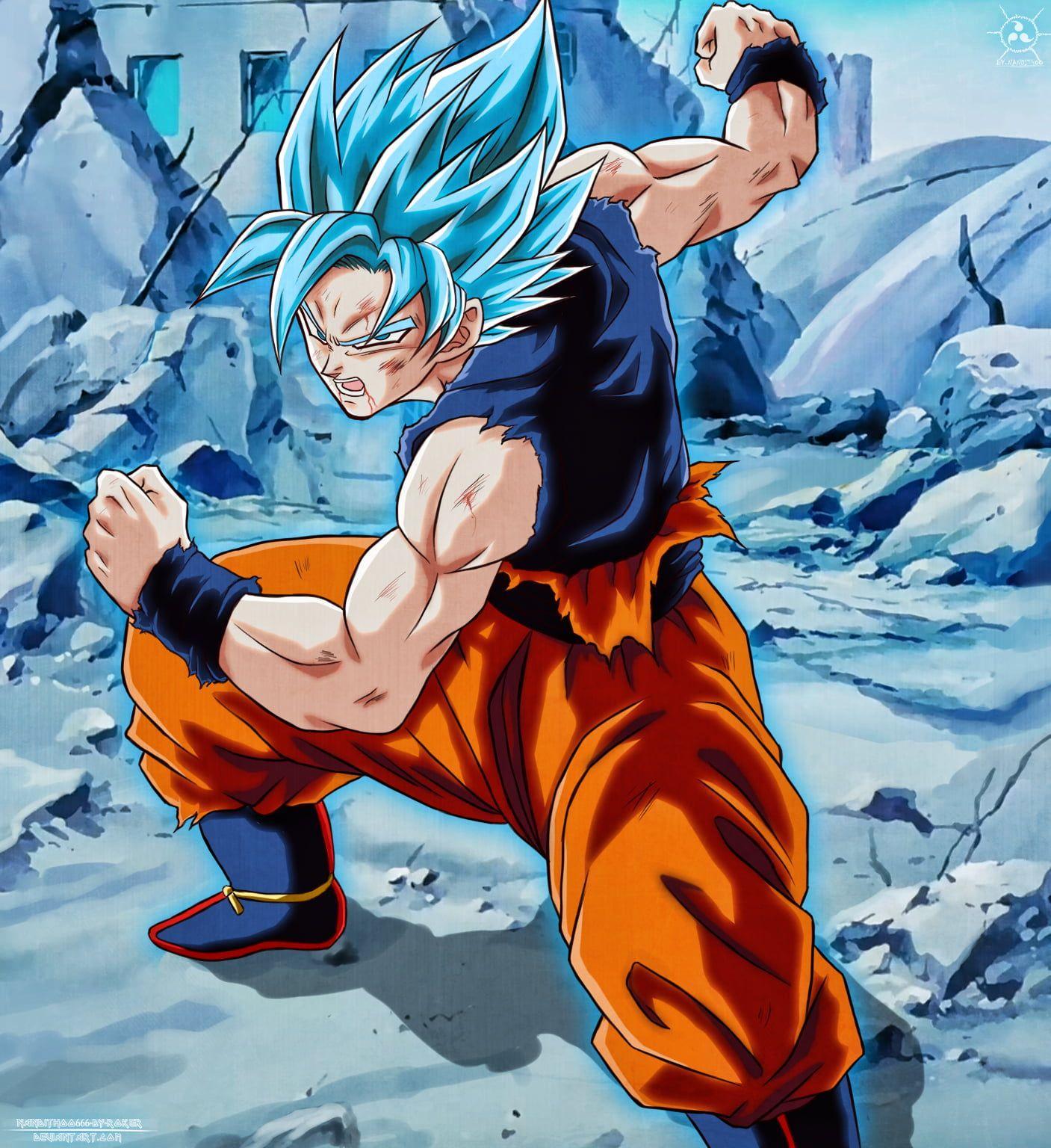 Super Saiyan Blue Goku Wallpapers