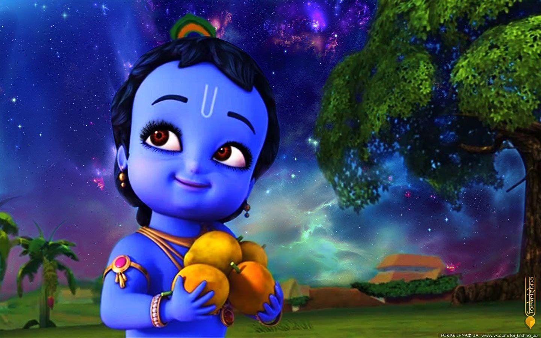 Little Krishna Wallpapers Top Free Little Krishna Backgrounds Wallpaperaccess