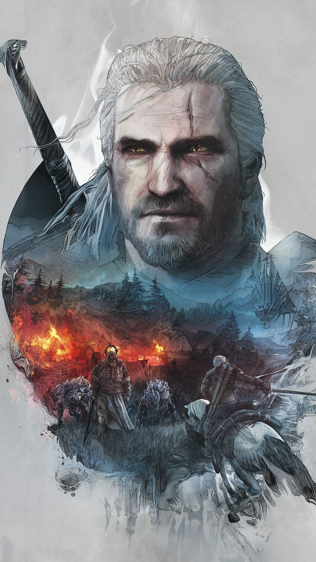 Witcher 3 Iphone Wallpapers Top Free Witcher 3 Iphone