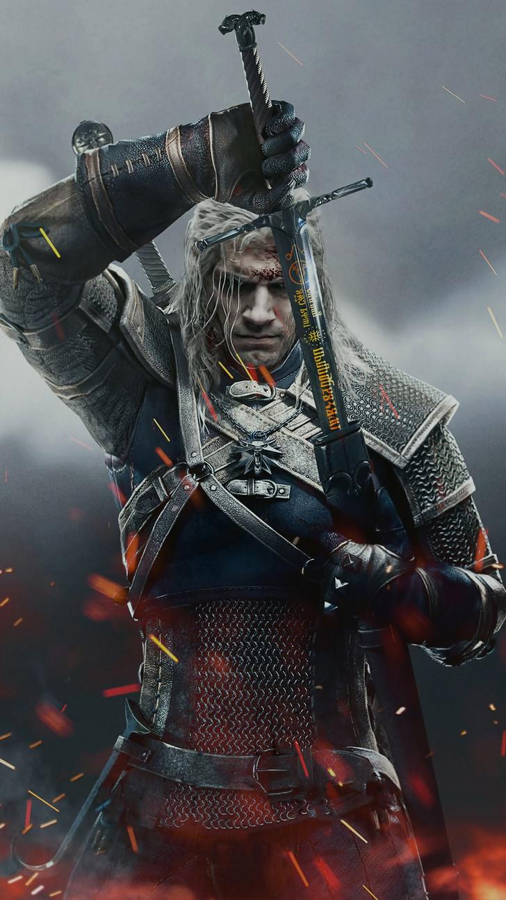 Witcher Phone Wallpapers Top Free Witcher Phone Backgrounds Wallpaperaccess