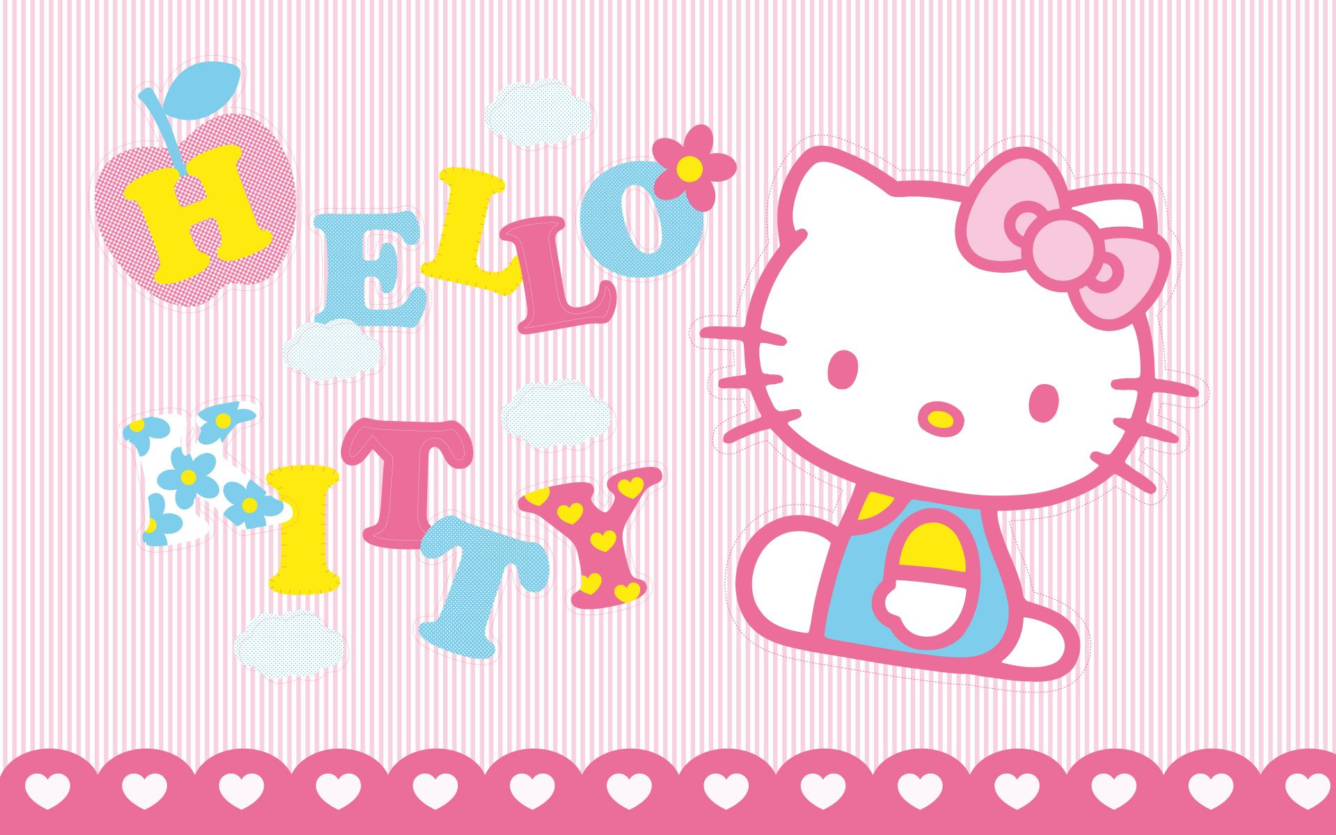 Kawaii Hello Kitty Wallpapers Top Free Kawaii Hello Kitty