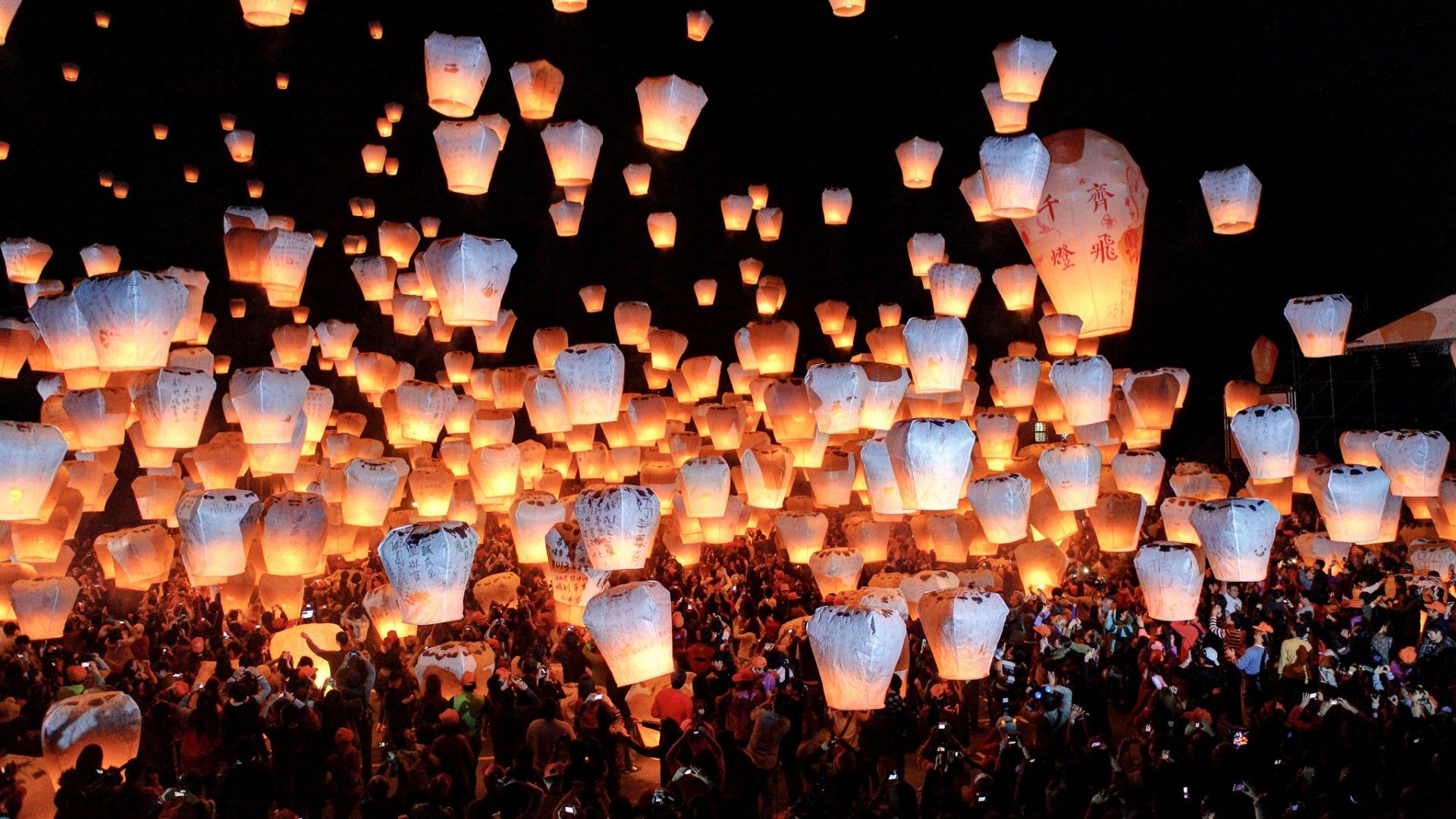 Chinese Sky Lanterns Wallpapers Top Free Chinese Sky Lanterns Backgrounds Wallpaperaccess
