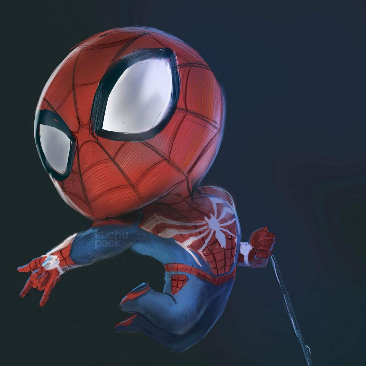Chibi Spiderman Wallpapers - Top Free Chibi Spiderman ...