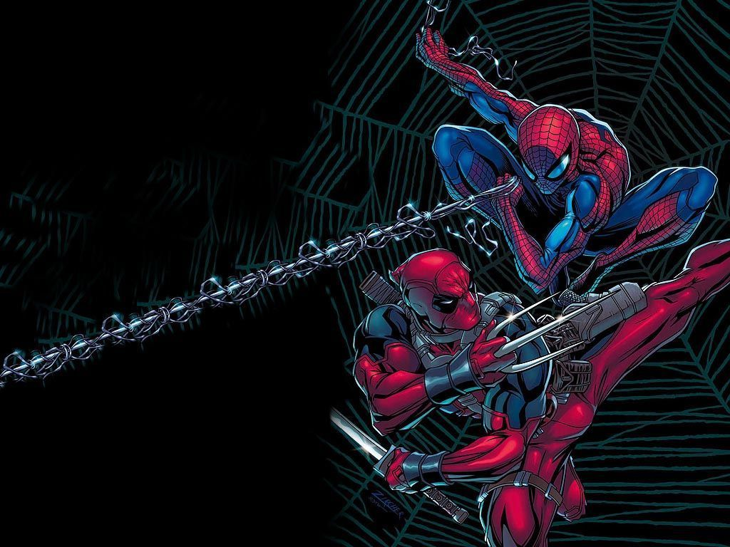 Spider Man Marvel Comics Deadpool Wallpapers Top Free