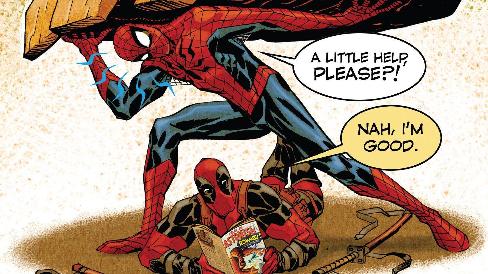 Spider Man Marvel Comics Deadpool Wallpapers Top Free Spider Man