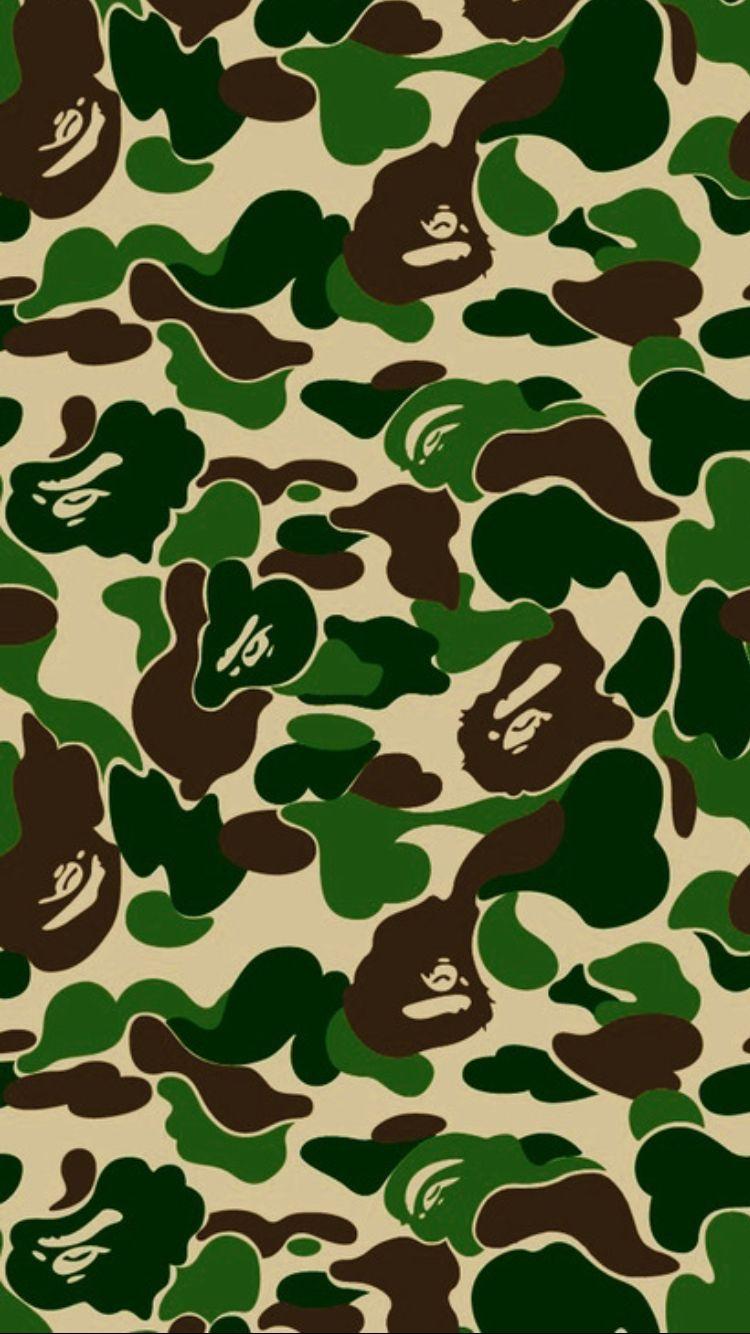 Bape wallpapers top free bape backgrounds wallpaperaccess - Camo shark wallpaper ...