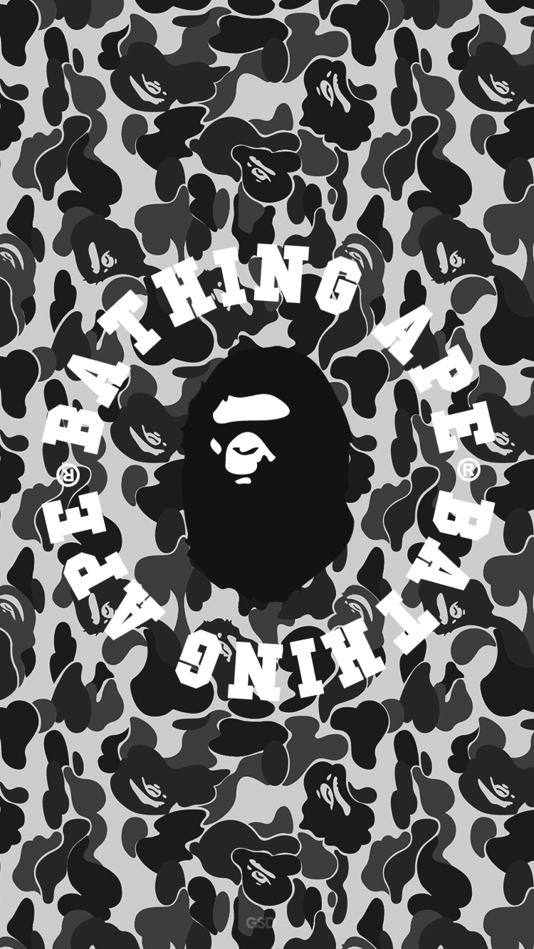 Bape Iphone Wallpapers Top Free Bape Iphone Backgrounds